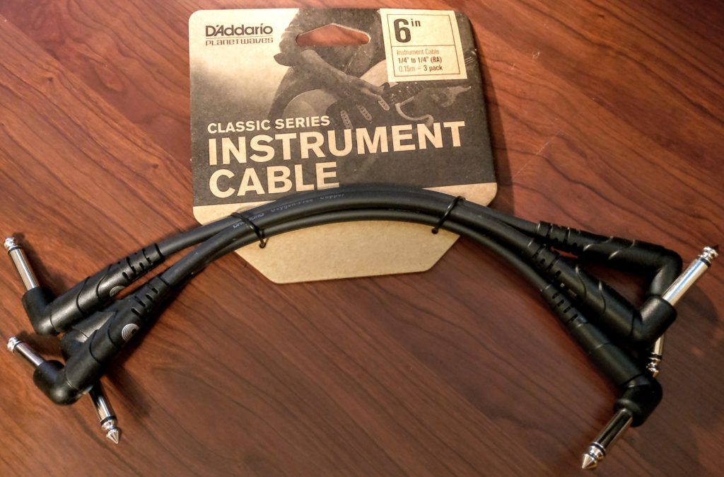 Effects Pedal Cables