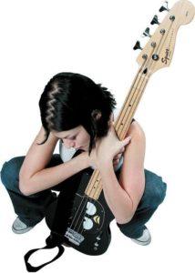 Hello Kitty Fender Squier Strat
