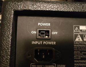 Broken Power Switch