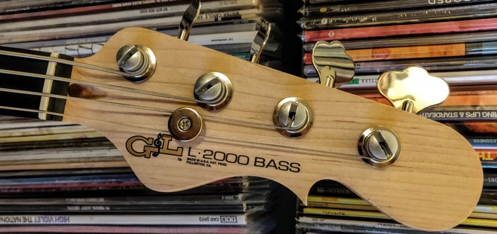 Bass Guitar String Tree Installation