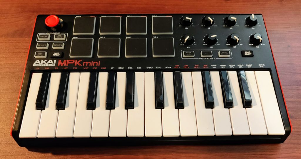 AKAI MPK Mini and iPad
